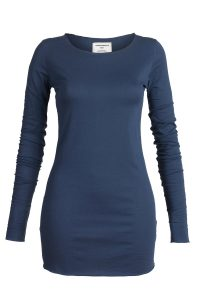 Camiseta Eve washed blue