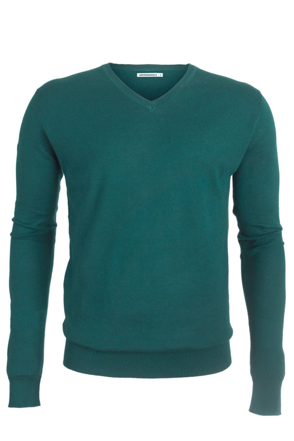 Jersey de punto Ray forest green