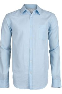 Armedangels Camisa Fred light blue