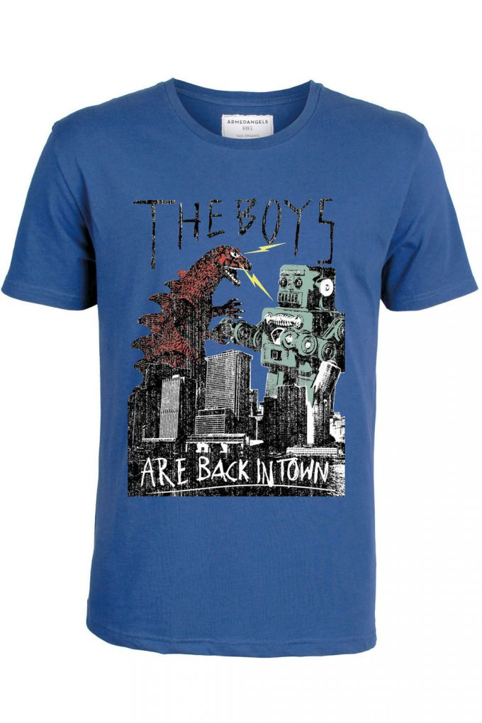 Camiseta James Back in Town