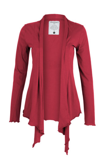 Chaqueta Elle hollywood red