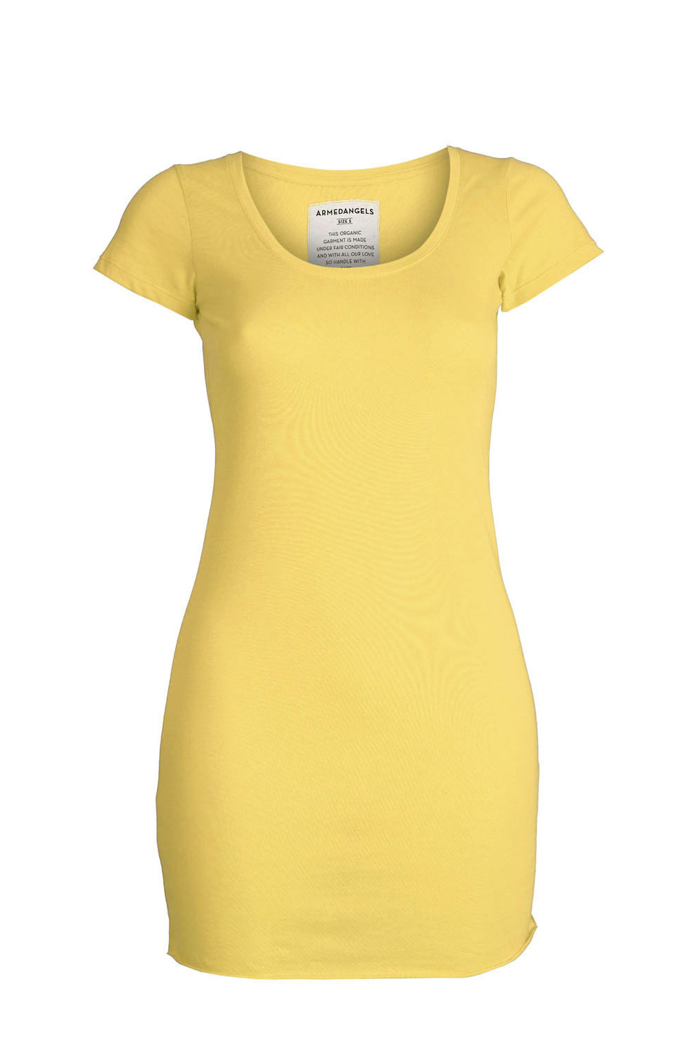 Camiseta Cleo golden yellow