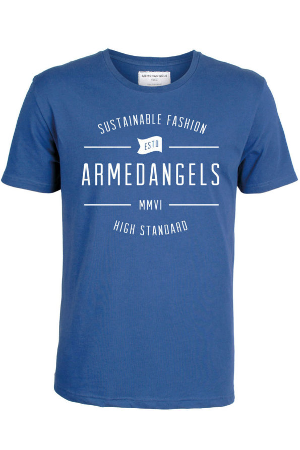 Camiseta James Sustainable french blue