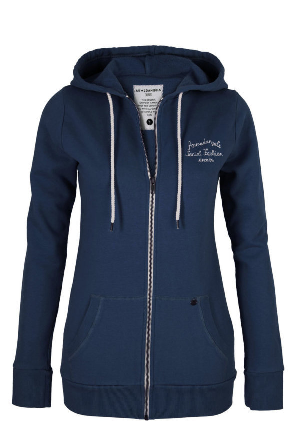 Chaqueta Paula washed blue