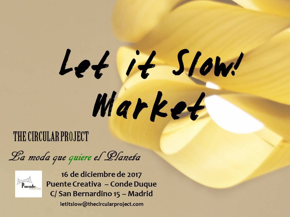 Let it Slow Market - mercado de moda sostenible